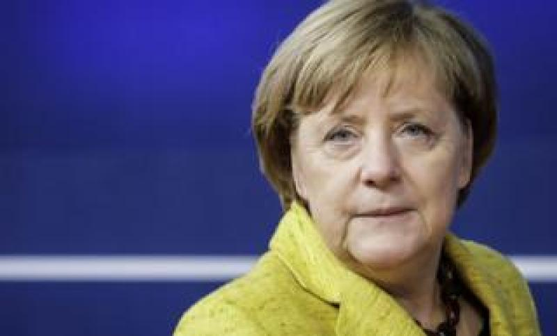 Germany's Chancellor Angela Merkel pictured in Brussels on December 14, 2017.