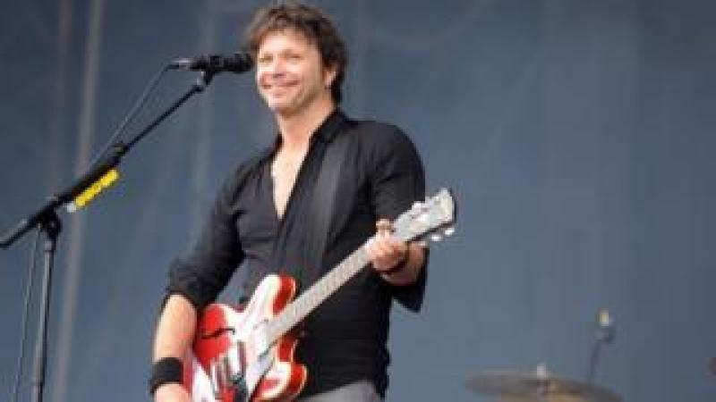 Bertrand Cantat on stage in March 2018
