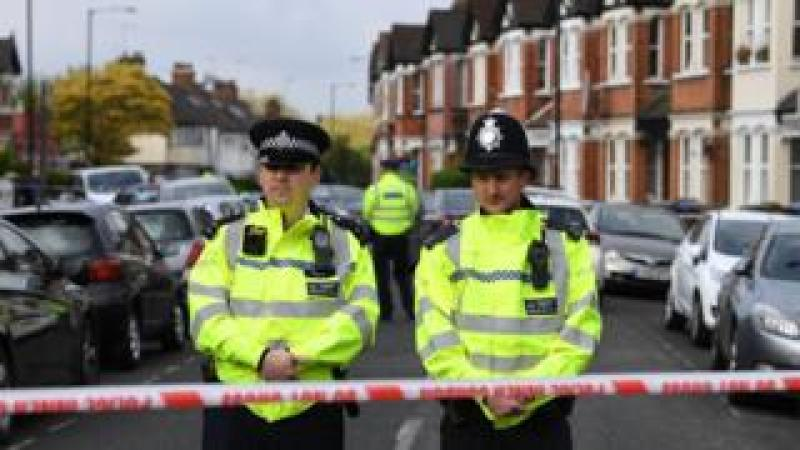 Police in north-west London