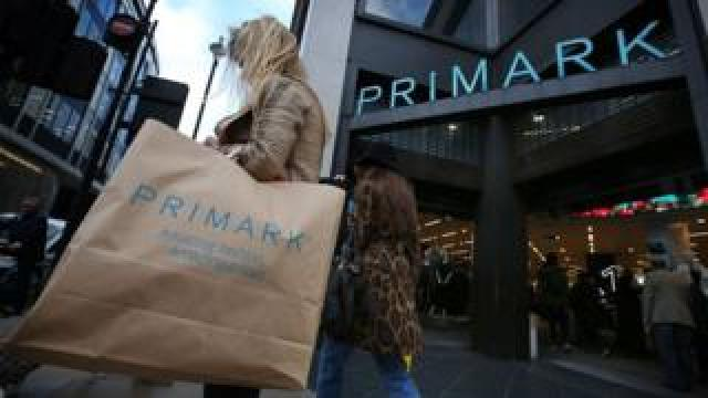 shoppers at Primark