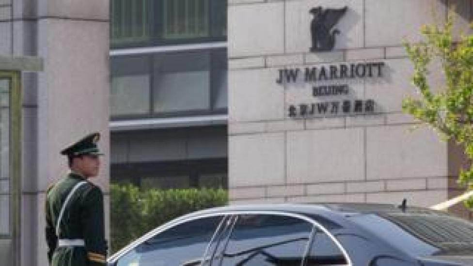 JW Marriott in Beijing 2012