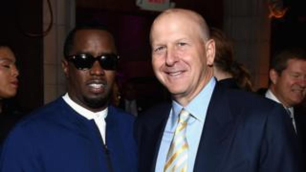 Sean 'Diddy' Combs and David Solomon