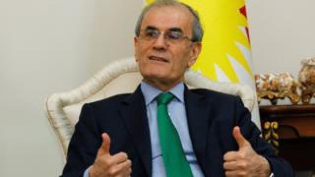 Governor of Kirkuk Province Najm al-Din Karim (14 September 2017)