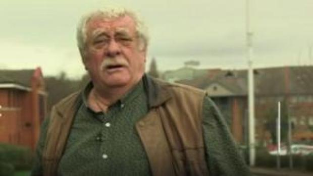 Sheffield comedian Bobby Knutt