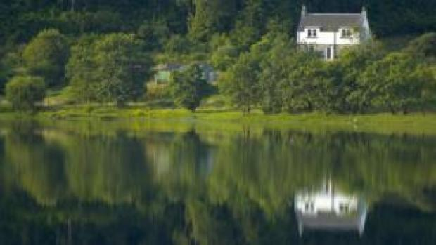 House on a loch