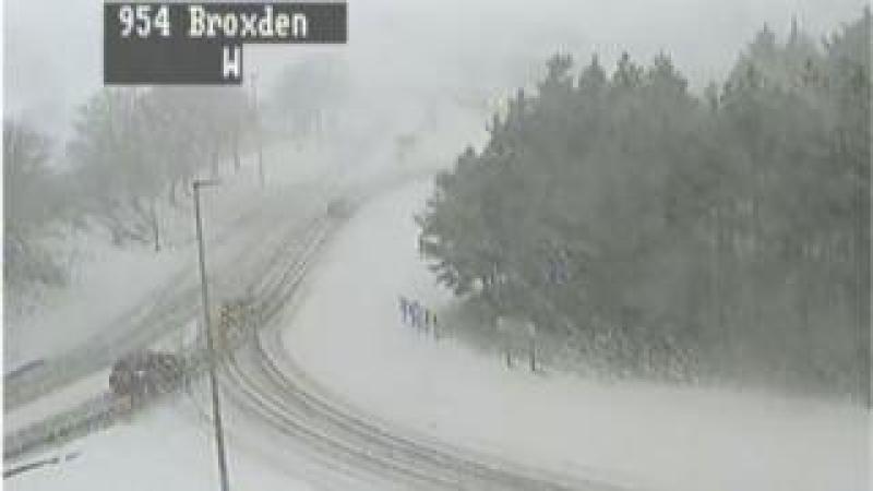 Traffic camera image of Broxden junction