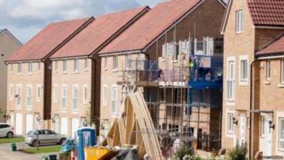 New housing in Bristol