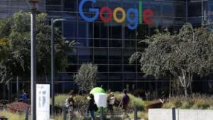 Google HQ in Mountain View, California