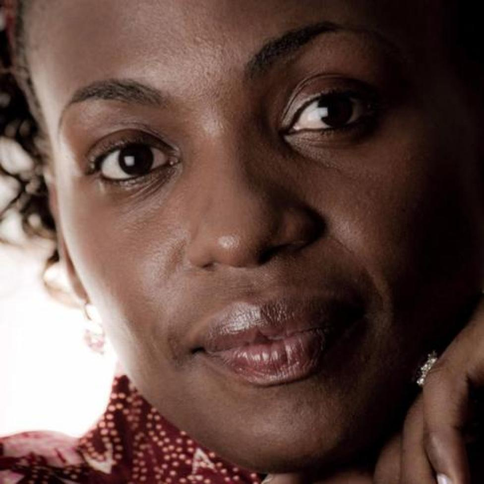 close-up of Terry Gobanga