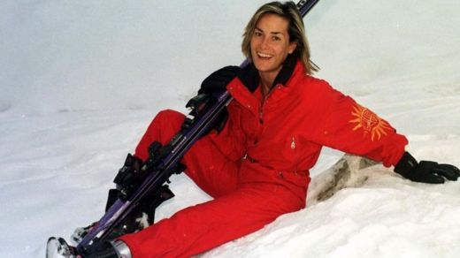 Tara Palmer-Tomkinson in Klosters, Switzerland