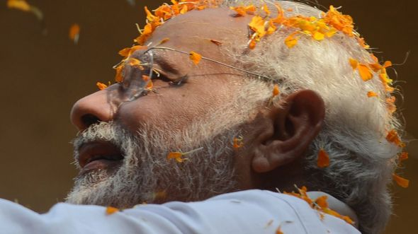The vote is being seen as a referendum on Narendra Modi