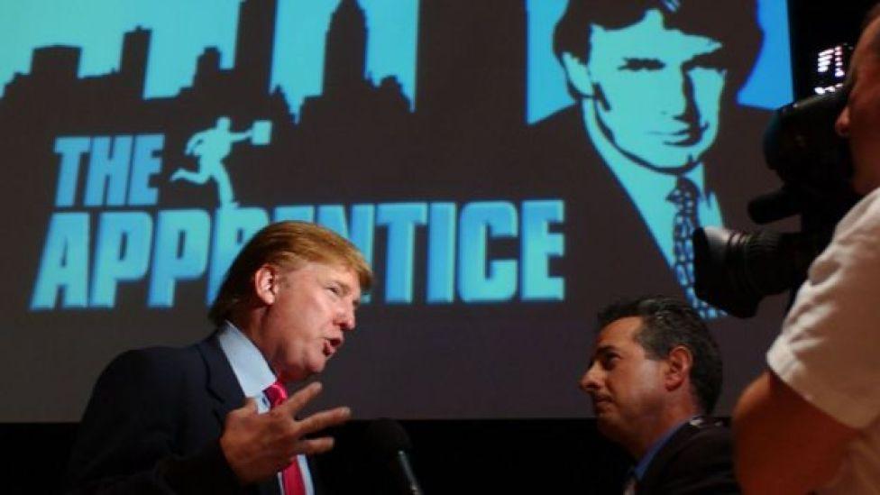 Donald Trump en El Aprendiz