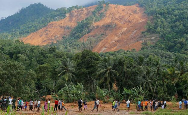 Image result for sri lanka mudslide 2016