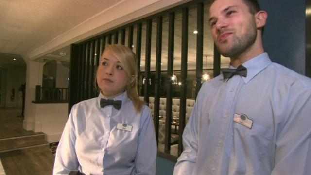 Hotel employees