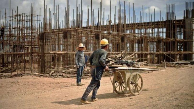 Construção financiada pela China