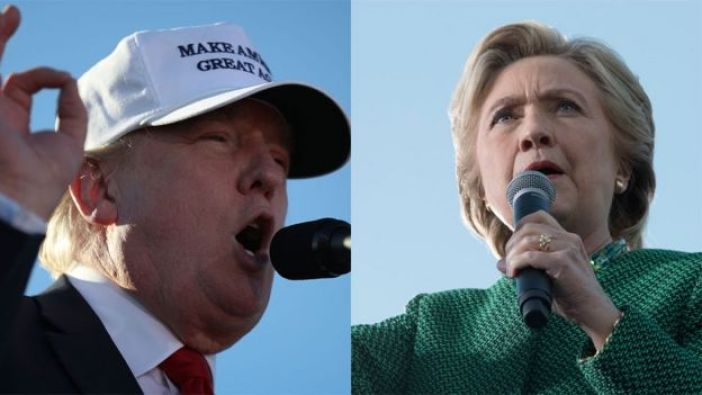 Donald Trump y Hilary Clinton