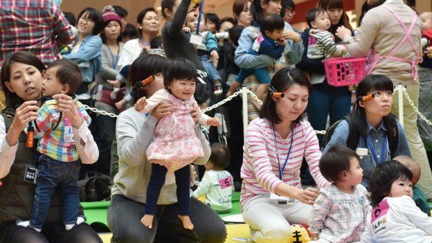 Madres japonesas