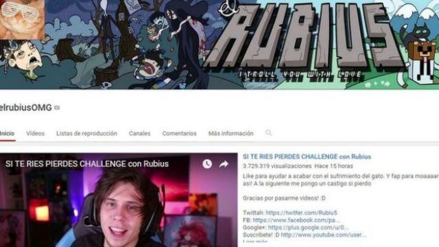 Captura de pantalla de su canal oficial en Youtube
