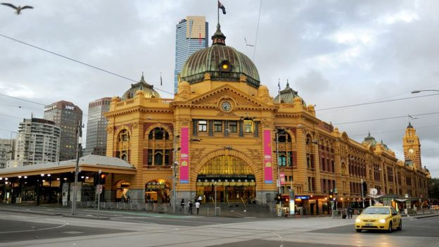 Flinders St Station is arguably Melbourne's most iconic location