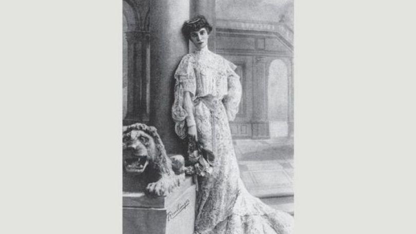 Retrato de Luisa Casati