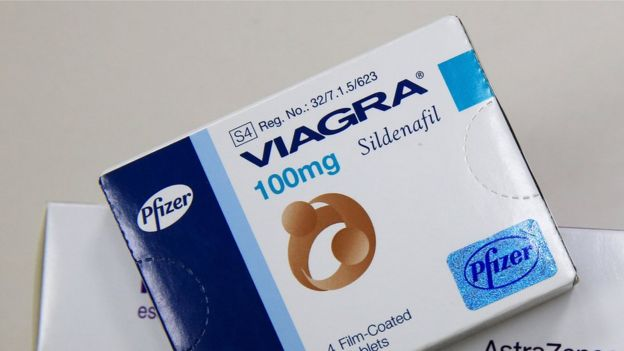 A box of Viagra