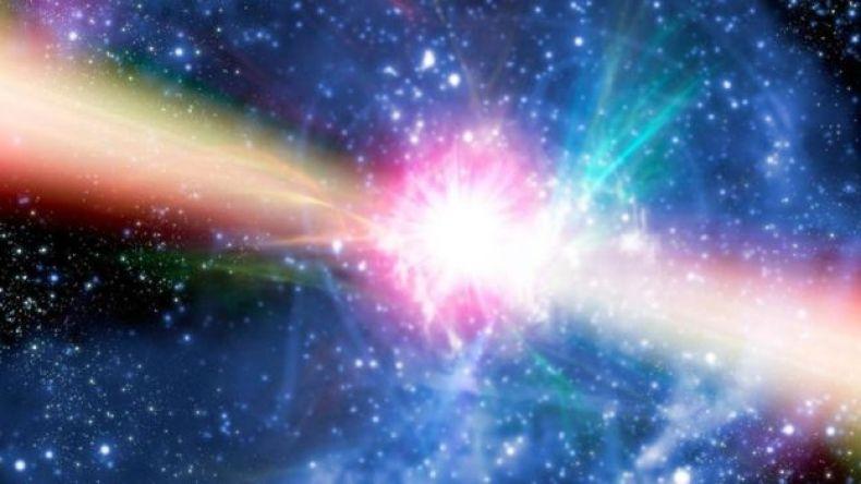 Ilustración de una pulsar