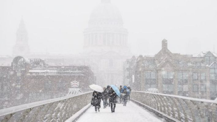 الجليد يكسو أغلب أنحاء بريطانيا خلال الأسبوع الجاري