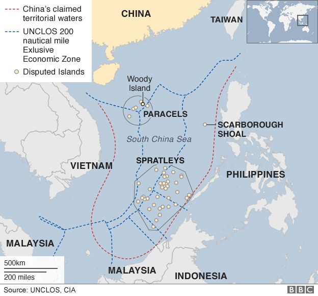 the south china sea conflict between different countries A map dating from the 1940s that claims large stretches of the south china sea china and the countries next global conflict between china.