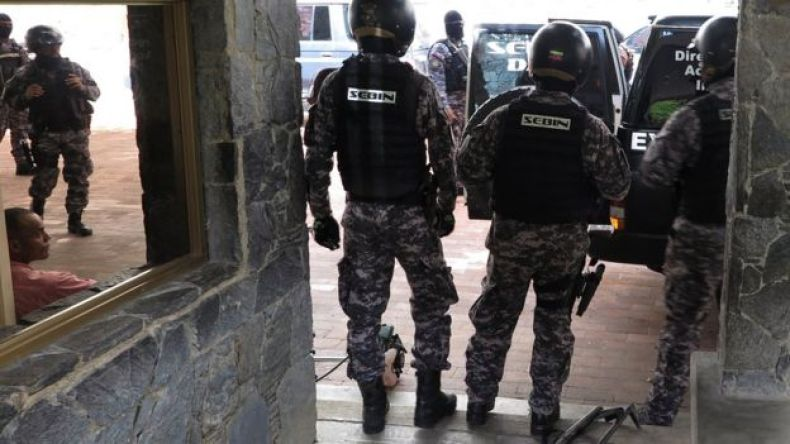 Fuerzas de seguridad.