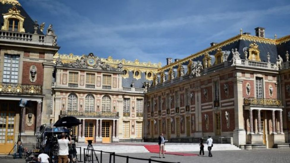 Versailles Palace, 29 May 17