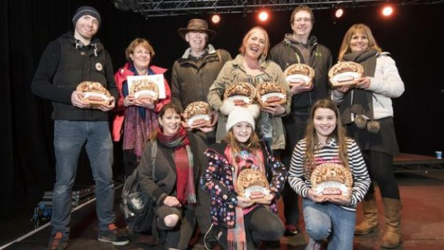 Winners at 2018's World Pasty Championships