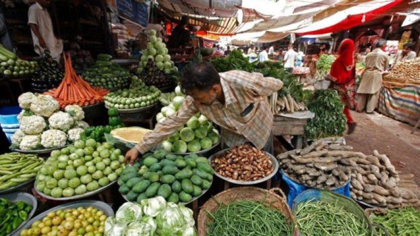 Asya'da manav ve sebzeleri