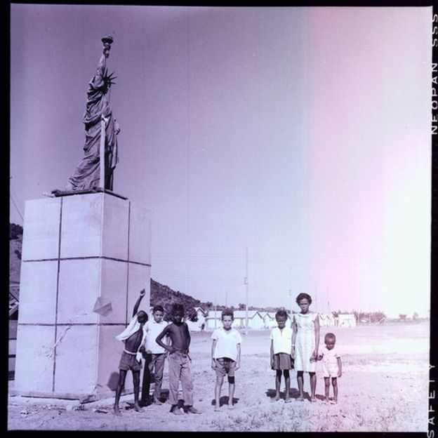 Foto histórica da Vila Kennedy