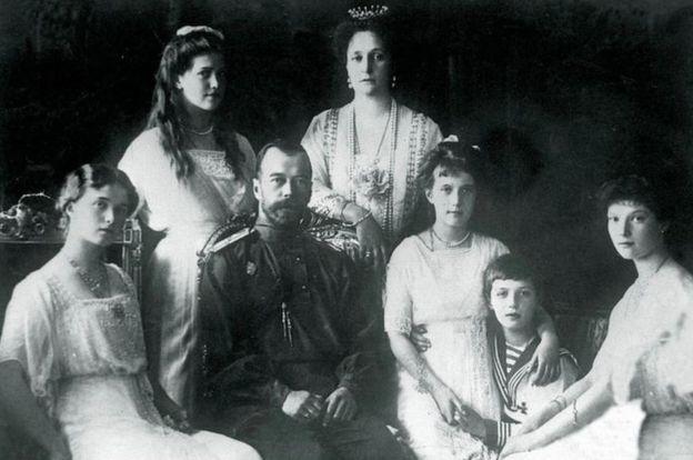 A família real Romanov