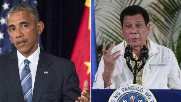 Obama và Duterte