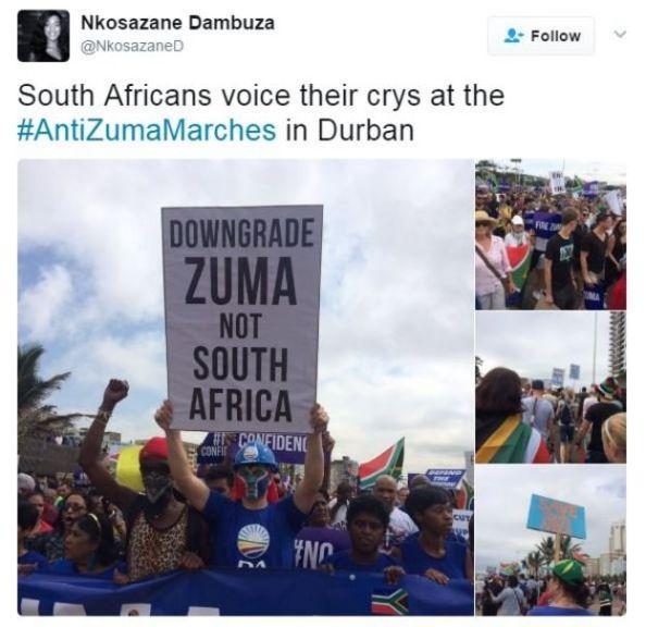 Nkosazane Dambuza tweets: