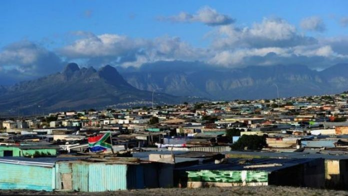 A general view of the Khayelitsha Township in Cape Town, South Africa.