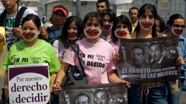 Sólo en la capital de México se permite el aborto legal.