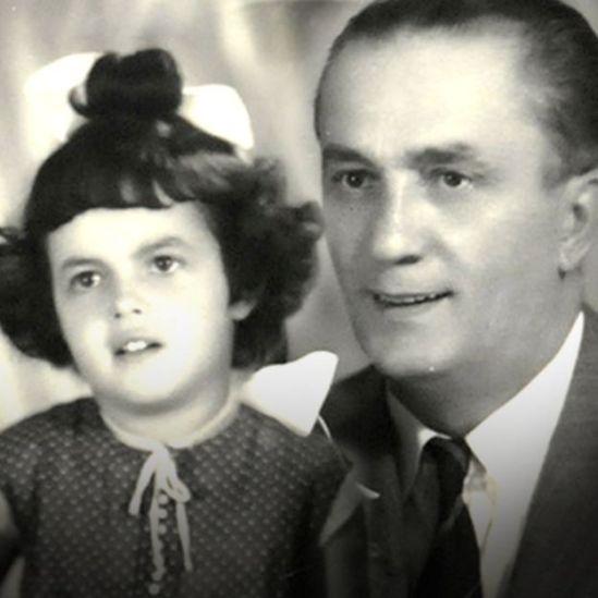 Dilma Rousseff e seu pai, Pedro