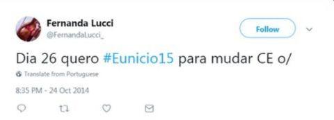 Captura de tela de perfil falso no Twitter