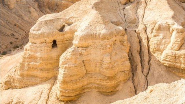 Caverna de Qumran, no Mar Morto