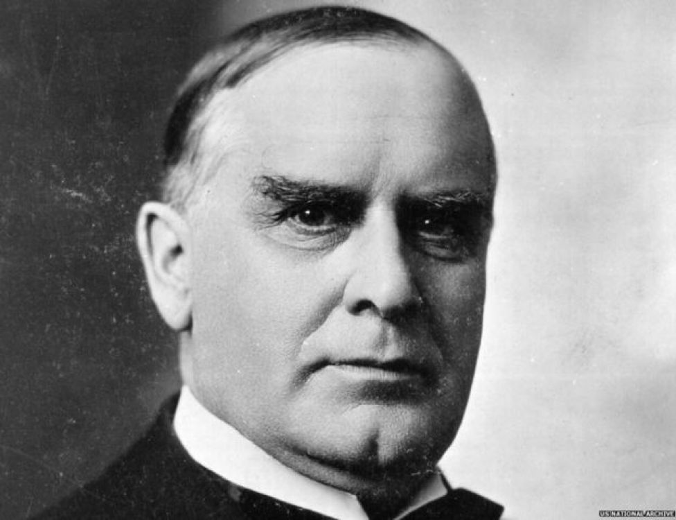 William McKinley, 25th President of the United States 01 January 1897