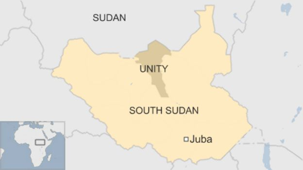 Unity state, South Sudan