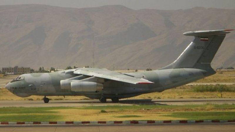 عکس یک هواپیمای ایلیوشین ۷۶ در ایران