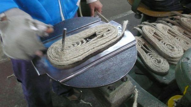 Fábrica de sandálias