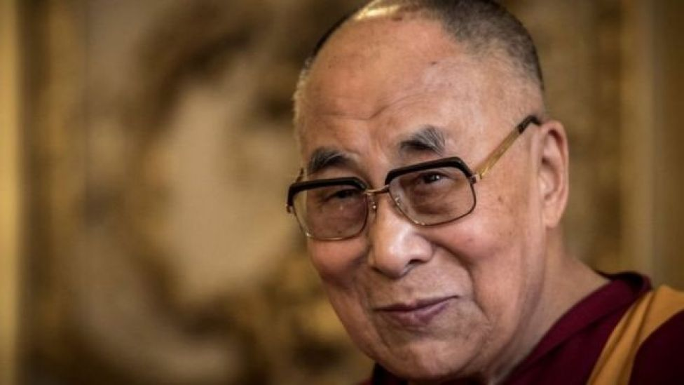 الزعيم الروحي للبوذيين في إقليم التبت، الدلاي لام