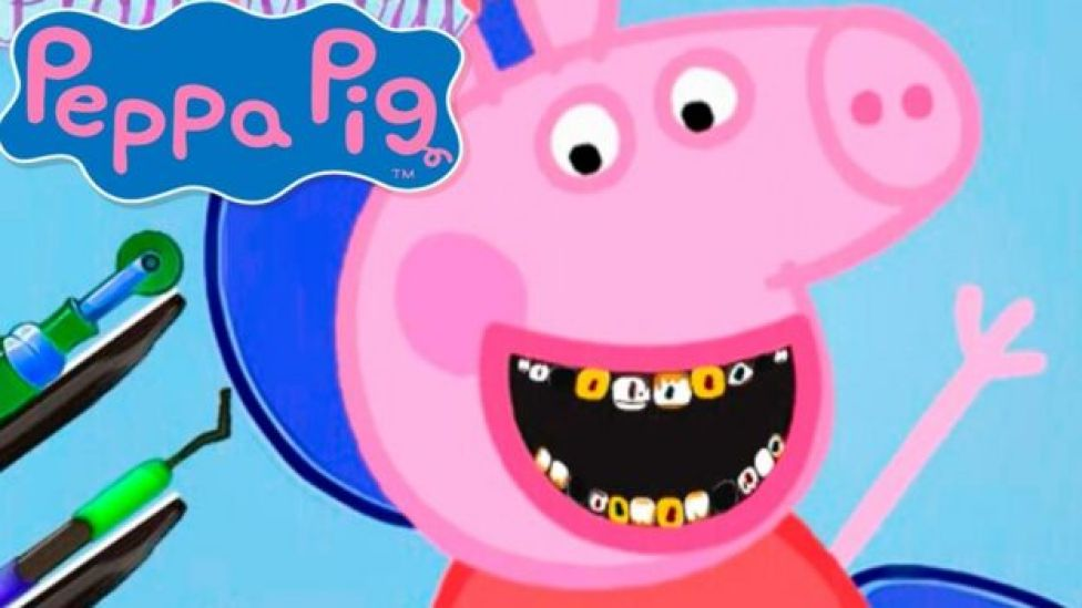 Peppa Pig en el dentista