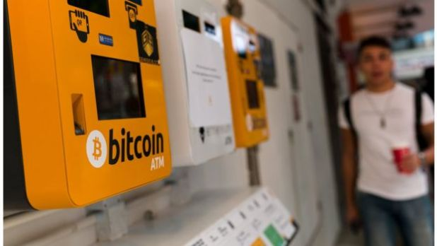 Máquinas expendedoras de bitcoins y ethereums