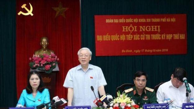 Tổng bí thư Trọng là Trưởng ban Trung ương về Phòng chống Tham nhũng