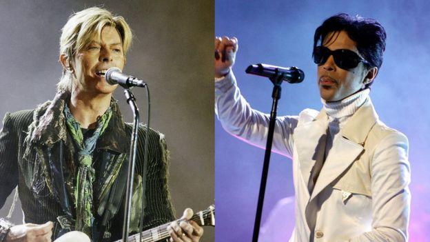 Bowie y Prince